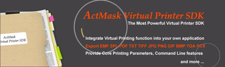 ActMask PDF Virtual Printer SDK, FAQs  Add PDF,TIFF,JPG,TIF,PNG,GIF